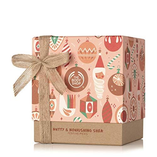 The Body Shop Shea Gift Set, Made With Community Trade Shea Butter, Great for Nourishing & Moisturizing Dry Skin, 5Piece
