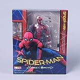 Juguetes de Anime Spider-Man Spider-Man SHF Movable Spider-Man Bugs Homecoming Season Modelo Figura
