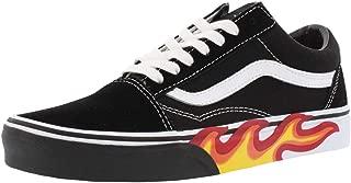 Unisex Flame Cut Out Old Skool Black/True White Sneaker...
