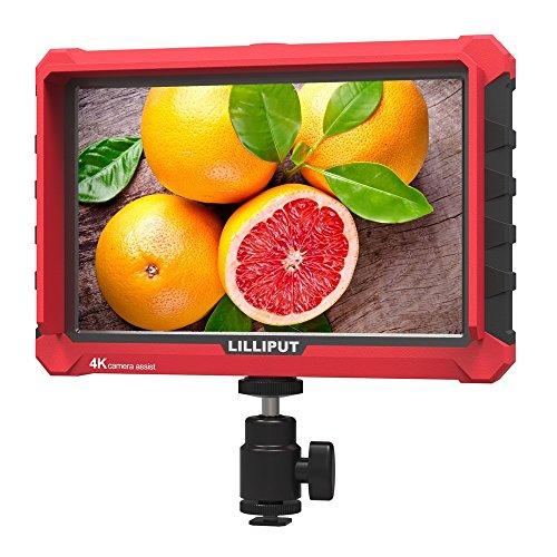 Lilliput A7S 7 Pulgadas 1920x1200 IPS Screen Camera Field Monitor 4K HDMI Input Output Video For DSLR Mirrorless Camera Sony A7S II A6500 Panasonic GH5 Canon 5D Mark IV dji Ronin M
