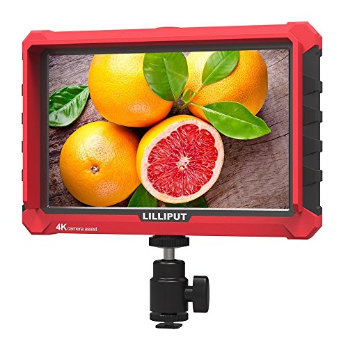 Lilliput A7S 7 pollici 1920x1200 IPS Screen Camera Field Monitor 4K HDMI Input output Video For DSLR Mirrorless Camera SONY A7S II A6500 Panasonic GH5 Canon 5D Mark IV DJI Ronin M