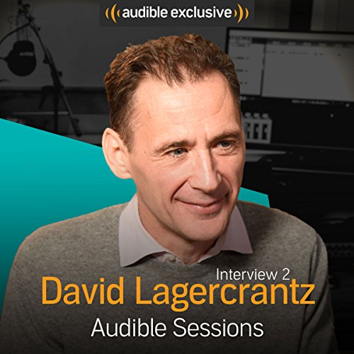David Lagercrantz - September 2017 audiobook cover art