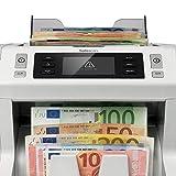 Safescan 2665-S - High-Speed Banknotenzähler mit Wertzählung für gemischte Geldscheine, mit 7-facher Falschgeldprüfungbanknote - 100%ige Sicherheit - 4