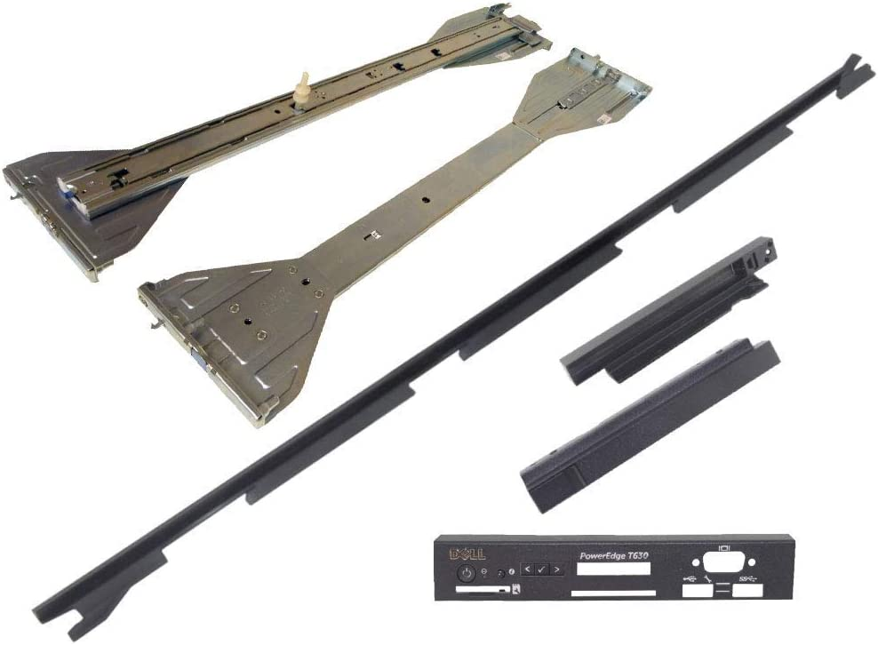 Dell PowerEdge T630 Tower to Rack Bundle with Conversion Kit (552FN), and Rail Kit Type C (D2K5P)