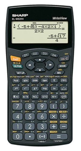 Sharp WriteView EL-W531H Scientific Calculator