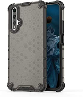 Good For Huawei Nova 5T Shockproof Honeycomb PC + TPU Case(Red) Starxx (Color : Grey)