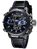 MEGALITH Relojes Hombre Digitales Militar Relojes Grandes LED Reloj de...