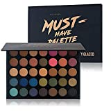 Beauty Glazed Paleta De Sombras De Ojos Profesionales - Paleta Maquillaje - Altamente Pigmentados 35...