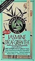 Triple Leaf Tea - Decafのジャスミンの緑茶 - 1ティーバッグ