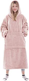 Oversize Teddy Sherpa Cuddly Cosy Sweatshirt Layer Thermal Giant Blanket Hoodie Fluffy Pullover Super Soft Wearable Dressi...