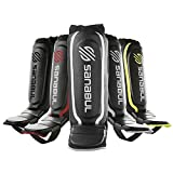 Sanabul Essential Shin Guards Silver, Large/X-Large