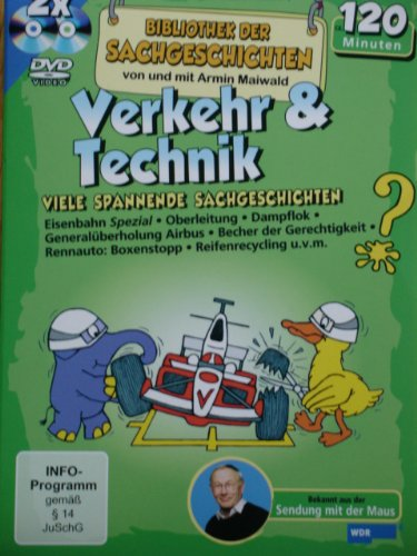 Bibliothek der Sachgeschichten - Verkehr & Technik (DVD) NEU