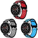 Syxinn Compatible para 22mm Correa de Reloj Galaxy Watch 46mm/Gear S3 Frontier/Classic/Galaxy Watch...