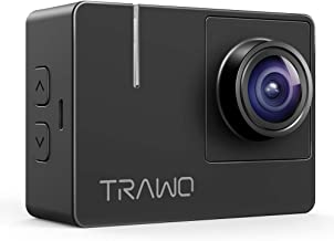 APEMAN Native 4K Action Camera TRAWO with 4K EIS, 20MP Sharp Images, 2'' IPS Screen, WiFi, Longer Battery Life