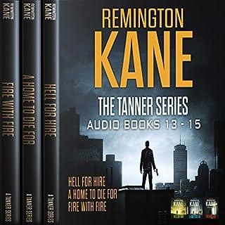The Tanner Series - Books 13-15 (Tanner Box Set) audiobook cover art
