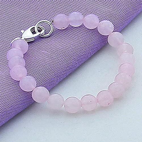 Miami Mall 925 Silver Bracelet Fashion Pink Bead Charm Bracel Crystal Pearl Max 70% OFF