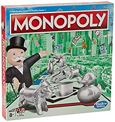 FAST-DEALING PROPERTY TRADING GAME: It's a Family Game Night staple! Players buy, sell, dream and scheme their way to riches with the Monopoly Game PLAYERS BUY, SELL AND TRADE TO WIN: There's a new mogul in town! Buy out neighborhoods, sell propertie...