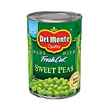 Del Monte Canned Sweet Peas, 15-Ounce (Pack of 12)