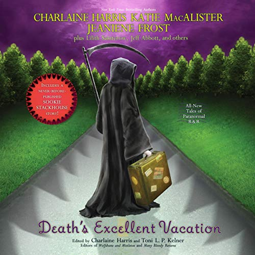 Death's Excellent Vacation audiobook cover art