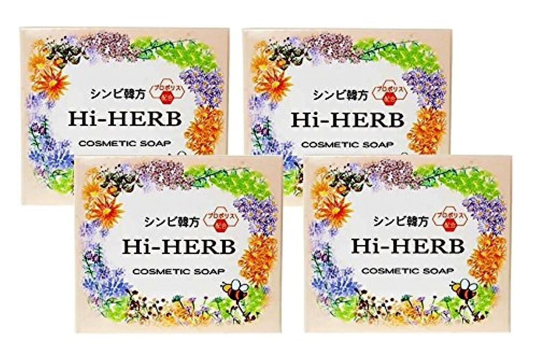 化学者オーバーランブリーフケース【シンビ】韓方ハイハーブ石鹸 100g×4個セット