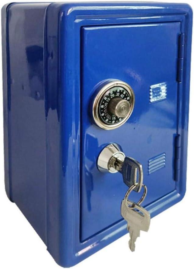 Household safe box Max 78% OFF mini metal safe- creative bank piggy key Max 76% OFF