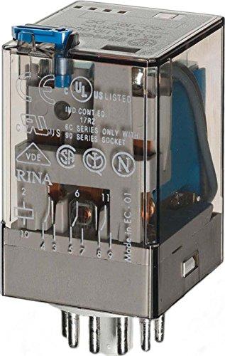 Finder Industrie-Steckrelais 60.13.9.024.0040 Ind-Relais 11 Poliges, 24 V DC, 3 W, 10 A