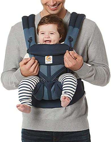 Ergobaby Omni 360 All Position Baby Carrier for Newborn to Toddler with Lumbar Support Cool product image