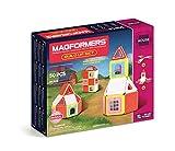 Magformers Build Up (50 Piece) Set Magnetic Building Blocks, Educational Magnetic Tiles Kit , Magnetic Construction STEM Toy Set includes brick accessories