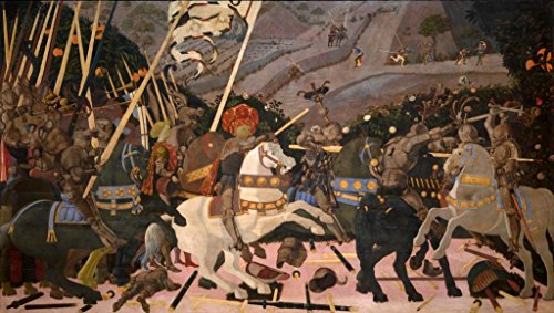 Paolo Uccello Battle of San Romano Circa 1440 Art Print