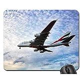 Alfombrillas de ratón - Avión de avión de Vuelo de Viaje de Emirates Airlines