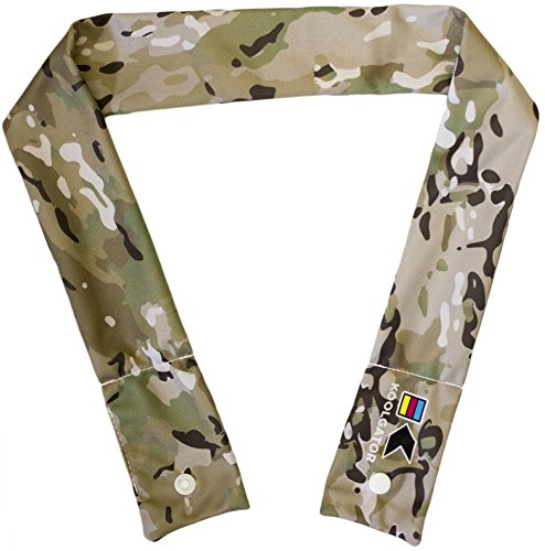 KOOLGATOR Cooling Neck Wrap - Scorpion Like Camo Design