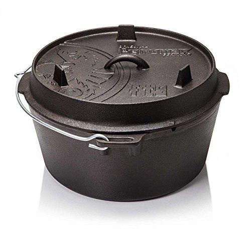 Petromax Feuertopf ft9 (Dutch Oven) (mit Standfüssen)
