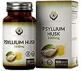 EN Cascara de Psyllium 1000mg | 180 Capsulas Veganas de Cáscaras de Psyllium | Fibra de Plantago...