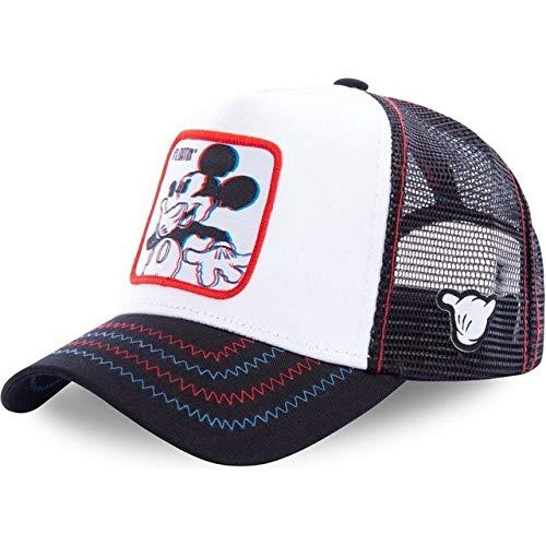 Nueva Gorra de béisbol de algodón Snapback para Hombres y Mujeres, Gorra de Camionero de Hip Hop para papá-Mickey Colorful