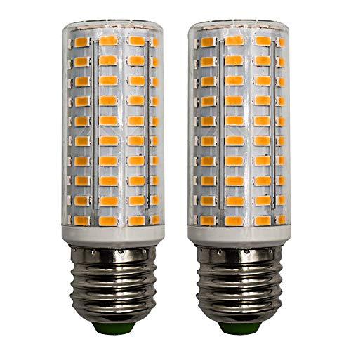 10W E27 LED Glühbirne Warmweiss 3000K 100V-265V Ersetzt 100W Stabform Mais Leuchtmittel Schreibtischlampe Deckenleuchte, Nicht Dimmbar, Doppelpack [MEHRWEG]