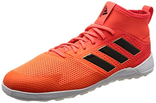 adidas Herren Ace Tango 17.3 in Futsalschuhe, Mehrfarbig (Solar Red/core Black/solar Orange), 48 2/3 EU