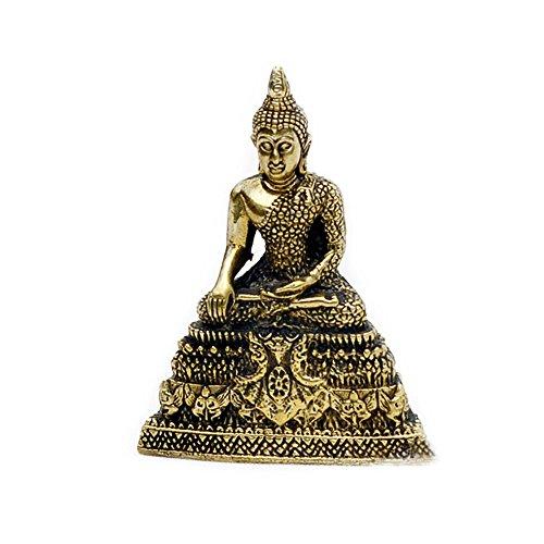 Vietguild's Thursday Buddha Bronze Figurine Statue Amulet