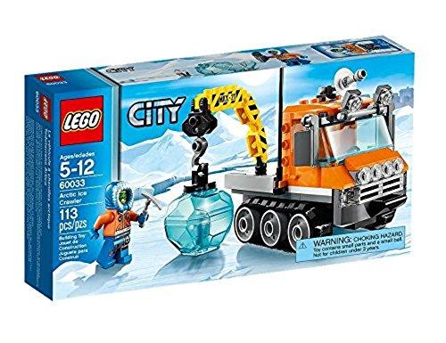 LEGO City - 60033 - Jeu De Construction - Le Véhicule À Chenille Arctique