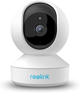 Reolink 4MP Super HD Indoor WiFi Camera, Dual-Band 2.4ghz/5ghz Security Wireless Home Camera, Pan/Tilt Baby Monitor Camera with Cloud Storage, Two-Way Audio, Night Vision and Remote Viewing, E1 Pro