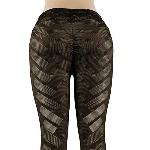CYFCXK Neumáticos Deportivos de Fondo Femenino Adelgazante Pantalones de Yoga Pantalones Sweetpants Fitness,A,M