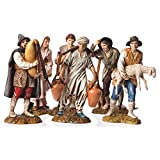 Holyart Pastores 6 Figuras Bel?n Moranduzzo 12 cm