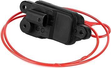 Qii lu Car Fuel Flap Actuator, Car Fuel Flap Actuator Motor Central Locking Replacement Accessories 8V0862159 Motor Central Locking