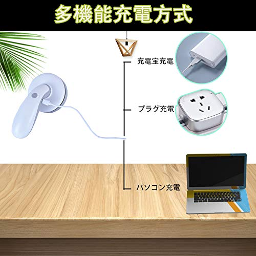 ZHOUHAI卓上洗浄機、USB充電式、卓上クリーナー、デスクトップ掃除機、静かな、勉強机、キーボード、ほこり、紙のほこり、牛乳鉛筆削り、ほこり、強い吸引、オフィスのテーブル、キーボード、家具の表面、クッションの掃除に使用できます、など。学生、文房具(灰)