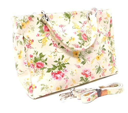 Luca Lorenzo Handtasche Womanbag bunt mit Blumenprint Art. 1009719