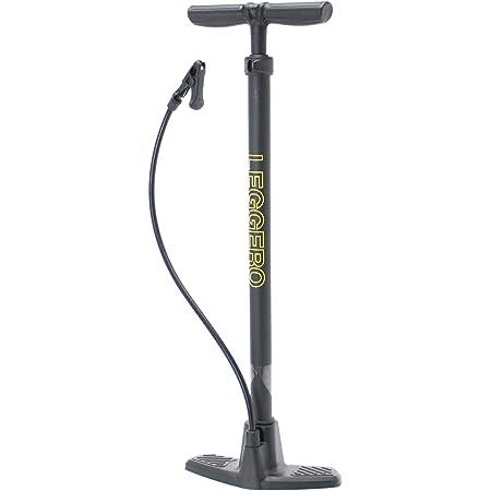 【Amazon.co.jp限定】サギサカ(SAGISAKA) 自転車 空気入れ LEGGERO 軽量 プラスチックポンプ 英式バルブ専用 SG規格認定品 85065 ブラック 中