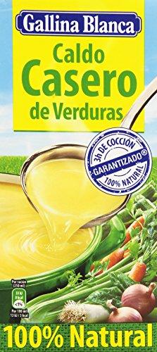 Gallina Blanca - Caldo casero de verduras - 100% Natural - 1 l