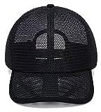 Hombres Verano Malla Completa Gorra de béisbol Hollow out Transpirable Quick Seco Enfriamiento Sundial Snapback Snapback Pico Sombrero para Senderismo Deportes al Aire Libre Lzp