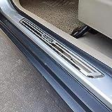 CHENGQIAN 4 Piezas De Acero Inoxidable Alféizar De La Puerta Accesorios De Automóvil Estilo De Coche para Dacia Renault Duster 2010 2018 2020
