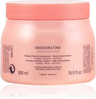 Kerastase Discipline Maskeratine Smooth-in-Motion Masque by Kerastase for Unisex - 16.9 oz Masque, 500 ml