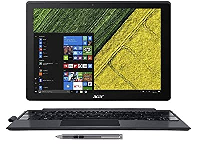 "Acer Switch Alpha 12 2-n-1, 12"" QHD Touch, Intel Core i3, 4GB Memory, 128GB SSD, Windows 10 Home, SA5-271-39N9"